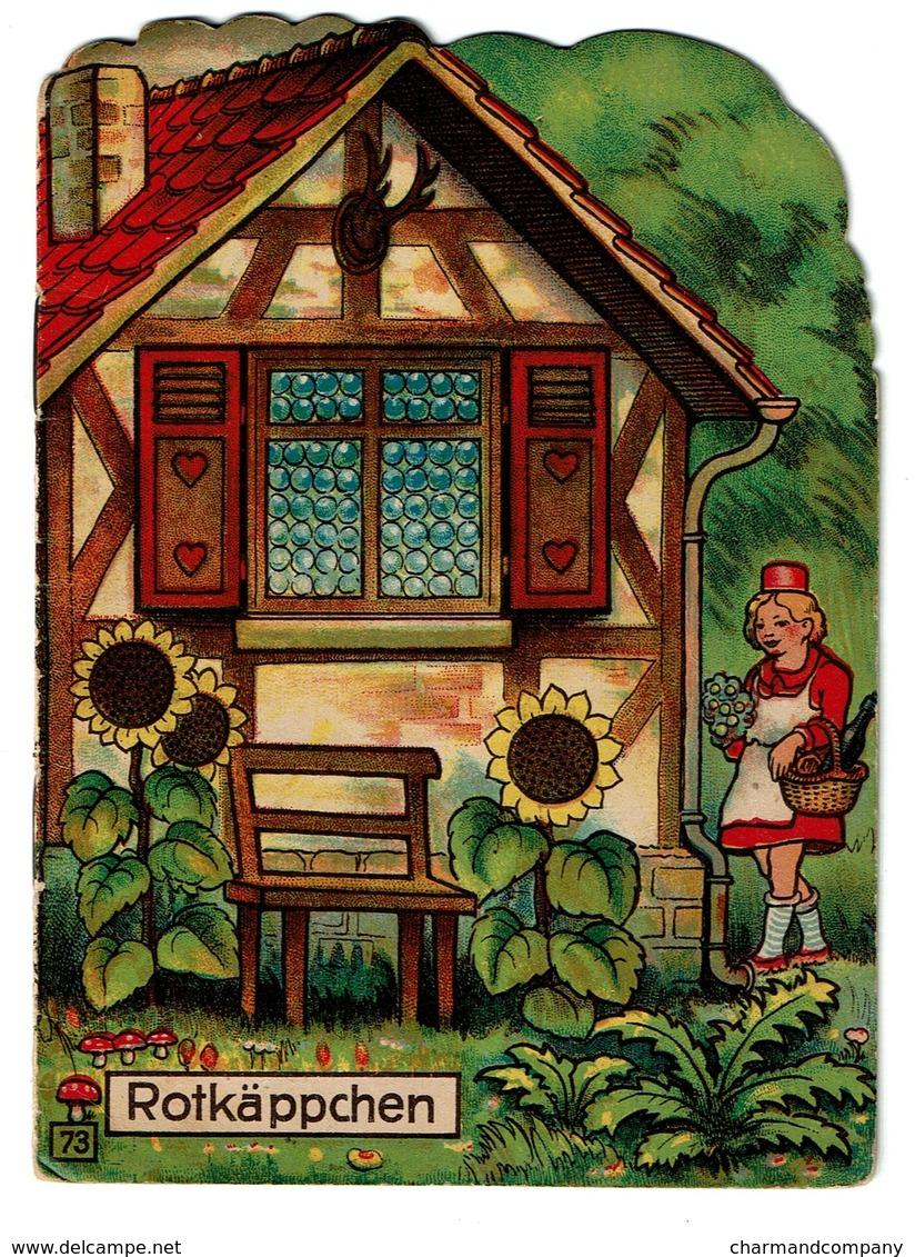 Rotkäppchen / Le Petit Chaperon Rouge - 4 Pages - Offert Par La Pharmacie Watry à Luxembourg  - 3 Scans - Boeken Voor Kinderen