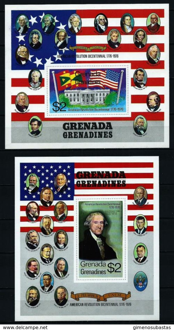 Granadinas (Grenada) Nº HB-11/12 Nuevo - Grenada (1974-...)