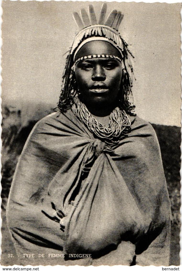 AFRIQUE ... RUANDA - URUNDI ... FEMME INDIGENE - Ruanda-Urundi