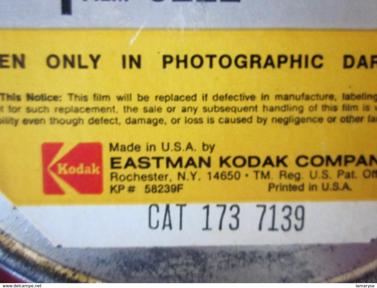 KODAK EASTMAN DOUBLE- X NÉGATIVE Photographie Bobine Film 35 Mm BH-1866-DXN 718 :VIERGE VENDU EN L'ÉTAT AUCUNE GARANTIE - Pellicole Cinematografiche: 35mm-16mm-9,5+8+S8mm