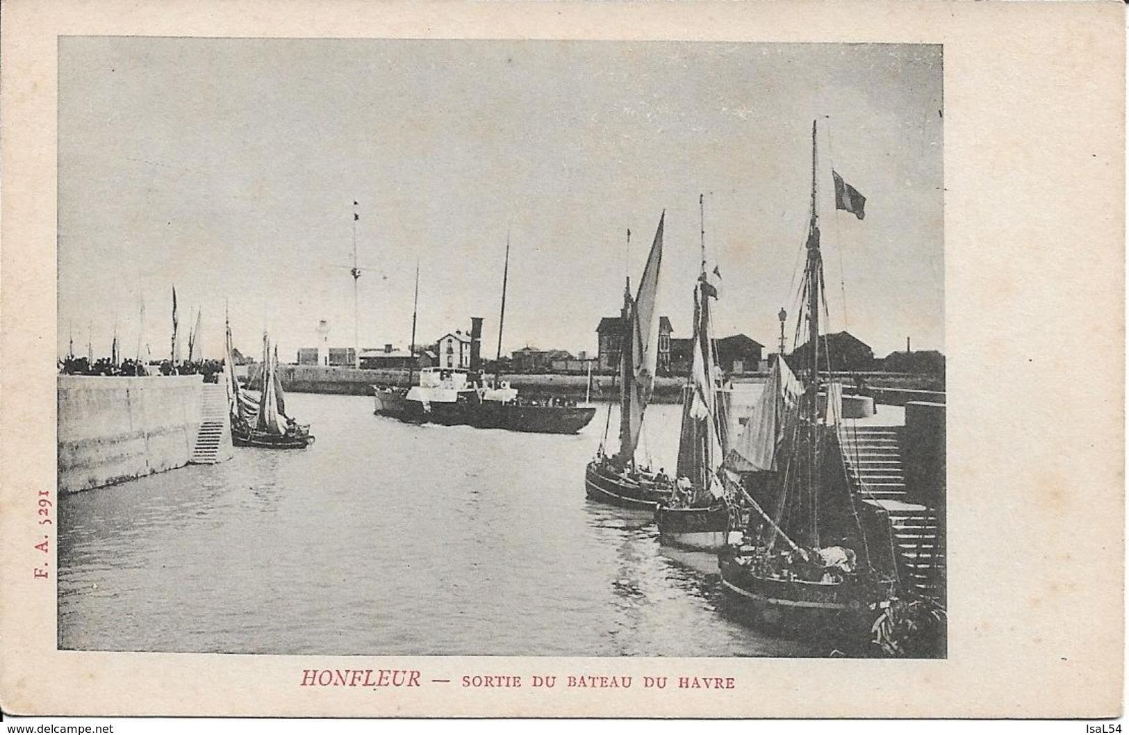 Honfleur Sortie Du Bateau Du Havre - Honfleur