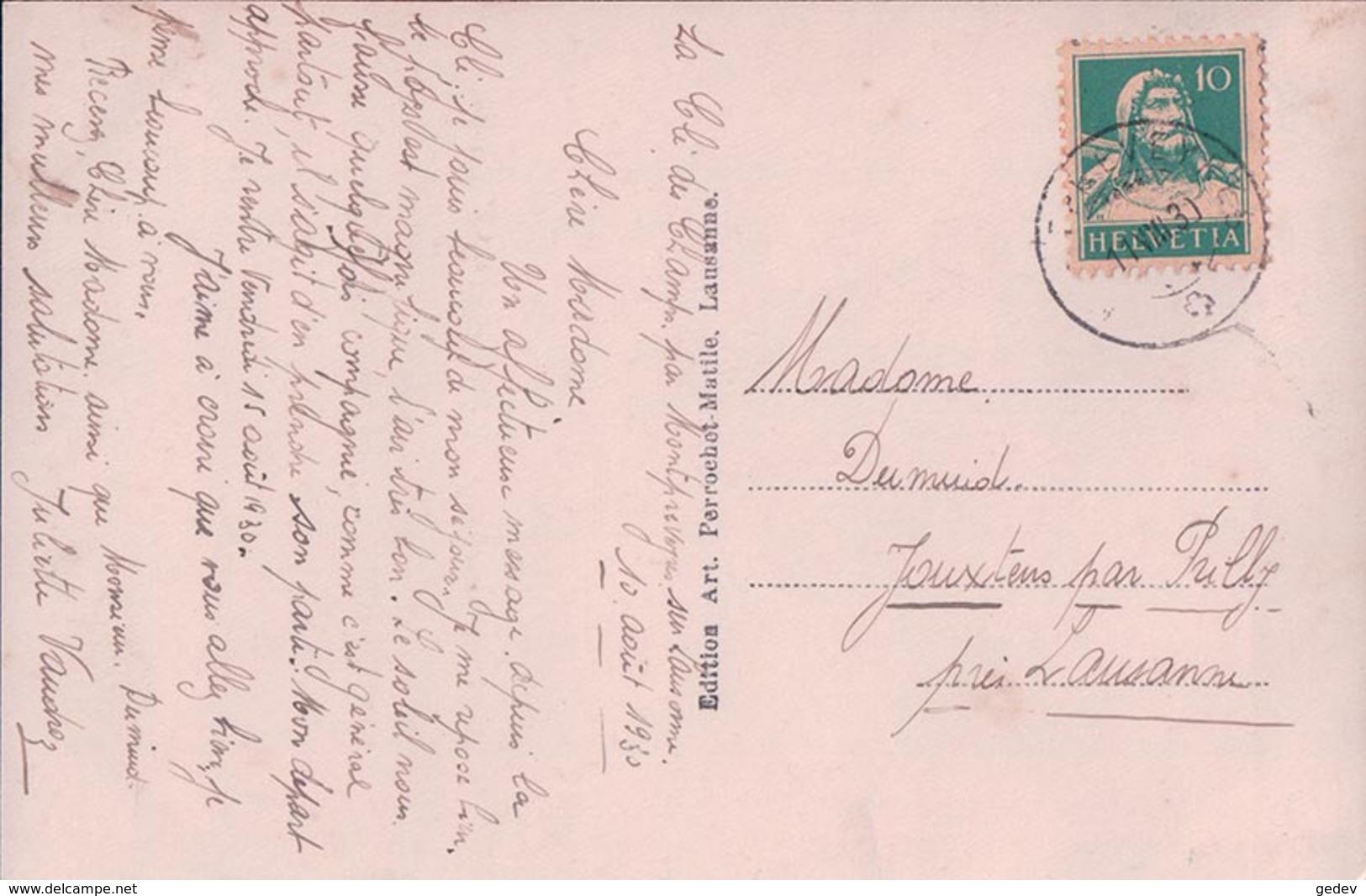 Montpreveyres Sur Lausanne, La Clé Des Champs (630) - VD Vaud
