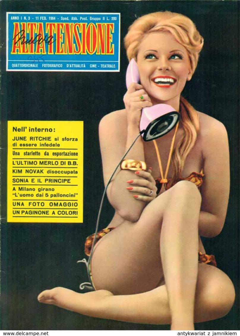 ALTA TENSIONE Nr 3 - 1964 - Cinema E Musica