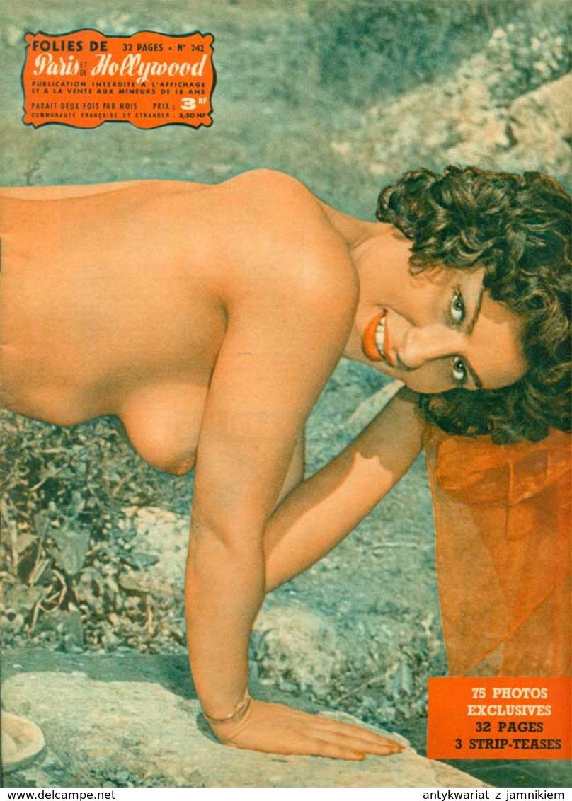 PARIS HOLLYWOOD Nr 242 - 1962   Akt Nude Erotik Nus Pin Up - Erotici (...-1960)
