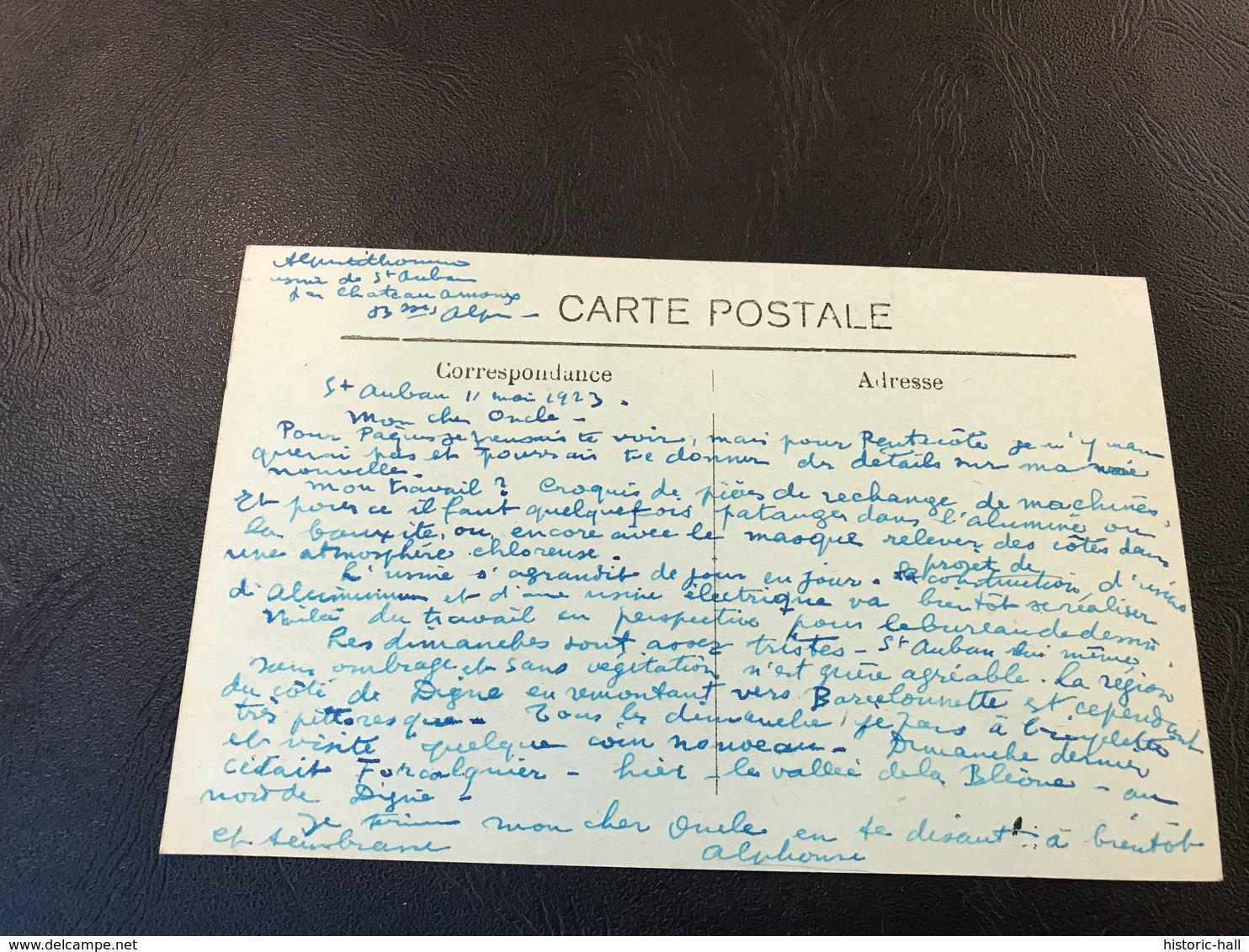 LES MEES Ensemble De Rochers Et Route De Malijai - 1923 - France
