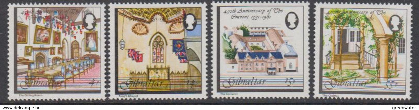 Gibraltar 1981 The Convent 4v ** Mnh (42925A) - Gibraltar