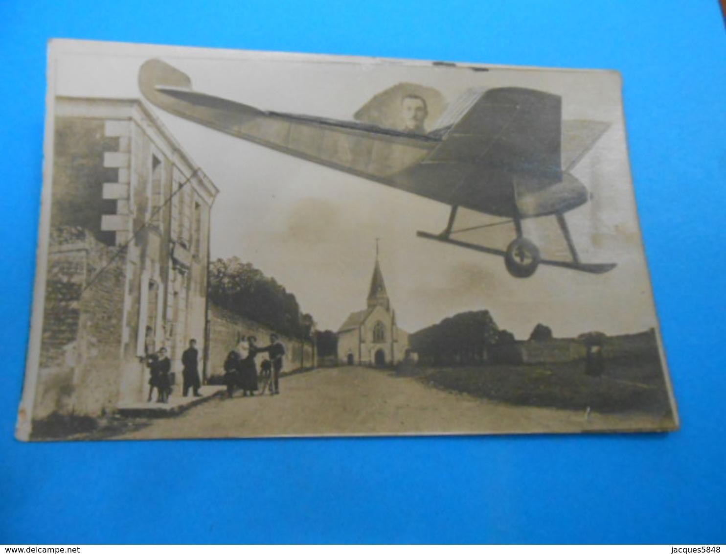 36 ) Le Blanc - Carte Photo - Avion : Année 1915 - EDIT - - Le Blanc