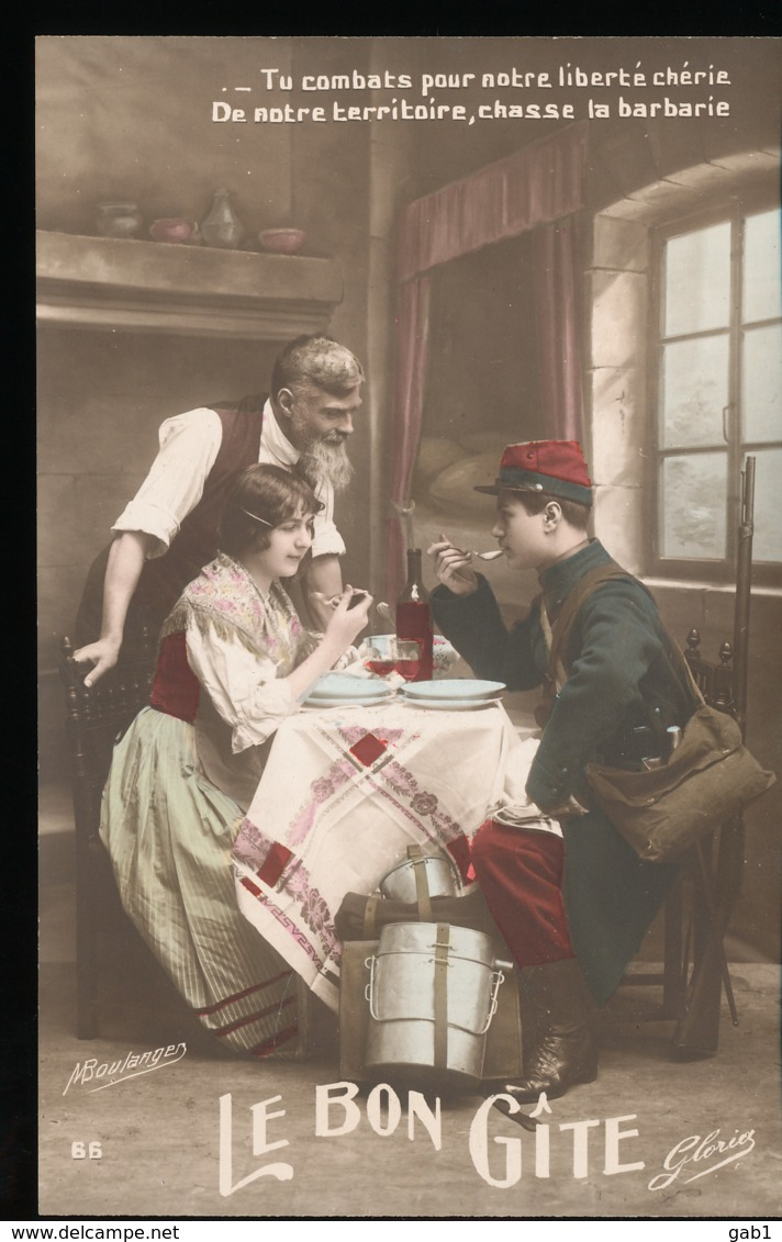 Le Bon Gite   ( 5 Cartes ) - Patriottisch