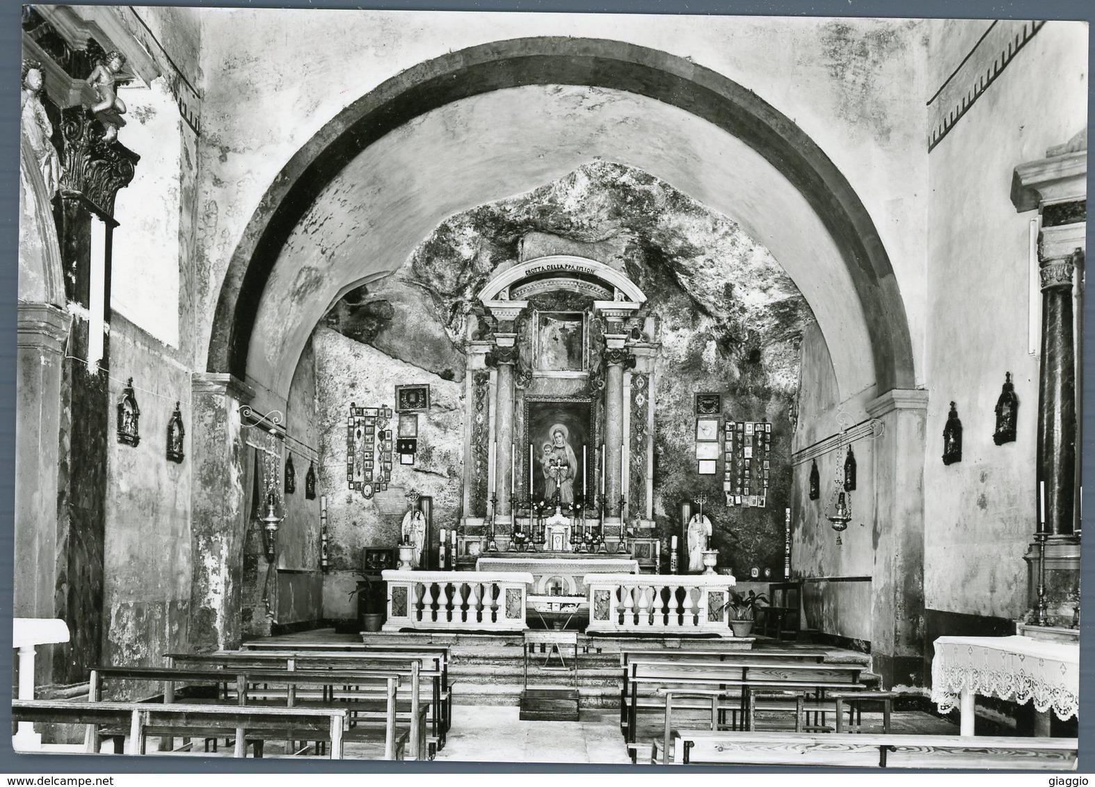 °°° Cartolina N. 6 Antrodoco Santuario Madonna Delle Grotte Nuova °°° - Rieti