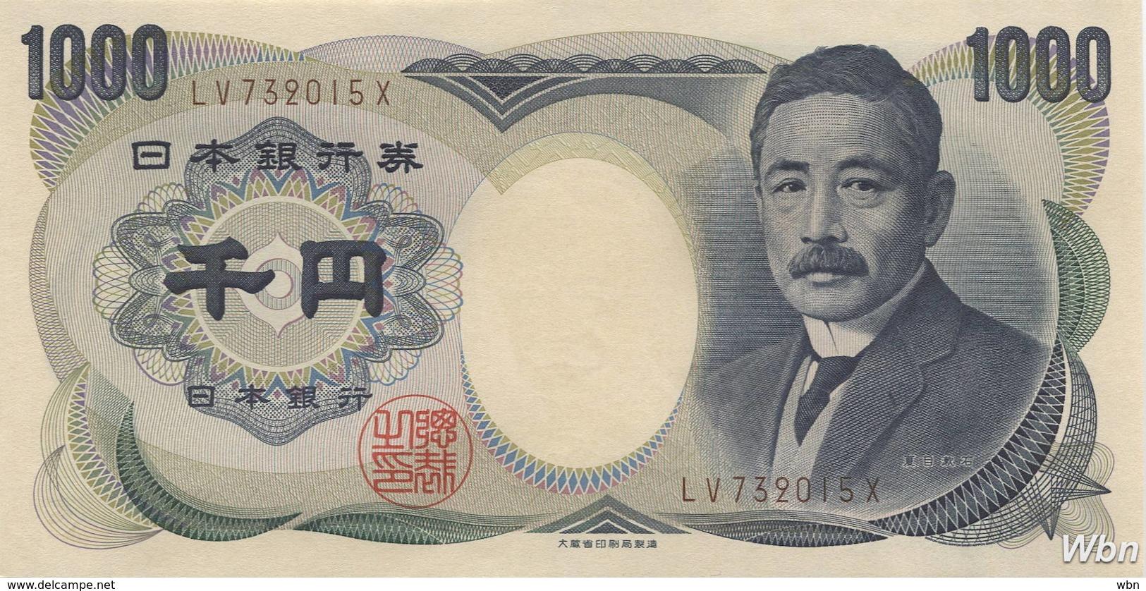 Japan 1000 Yen (P100b) (Pref: LW) -UNC- - Japan