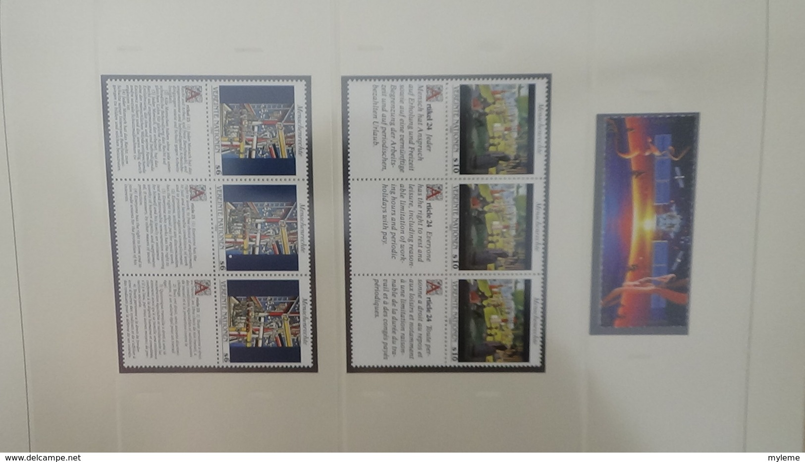 Grosse Collection Nations Unies En SAFE Avec étui De 1972 à 1991 ** Complet.. A Saisir !!! - Stamps
