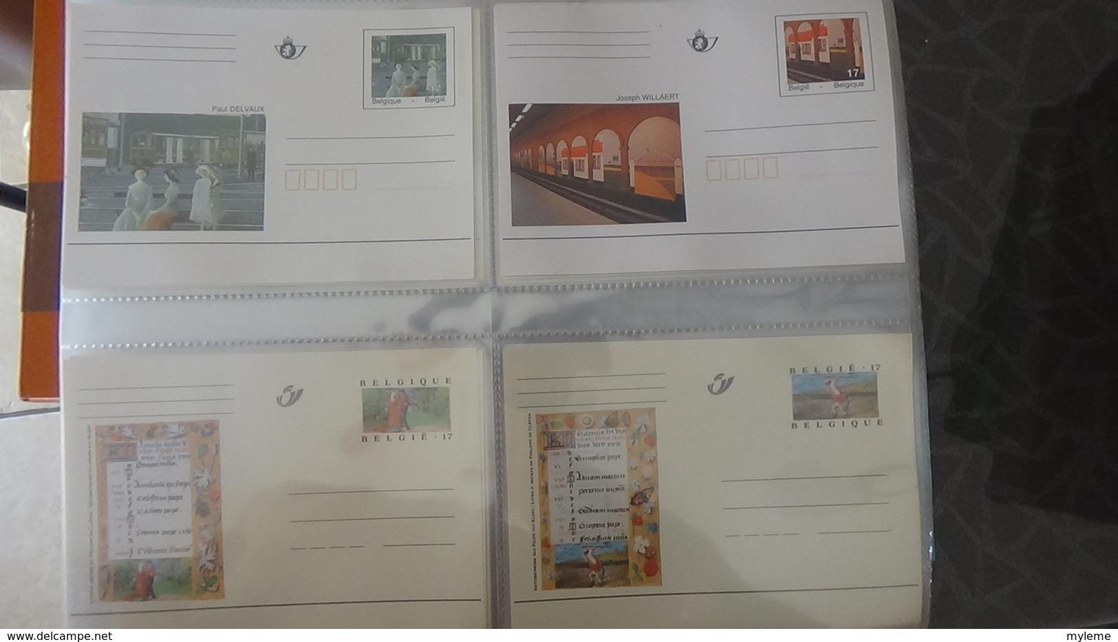 Lot De 136 Entiers Postaux ** De BELGIQUE Pas Commun !!! - Stamps