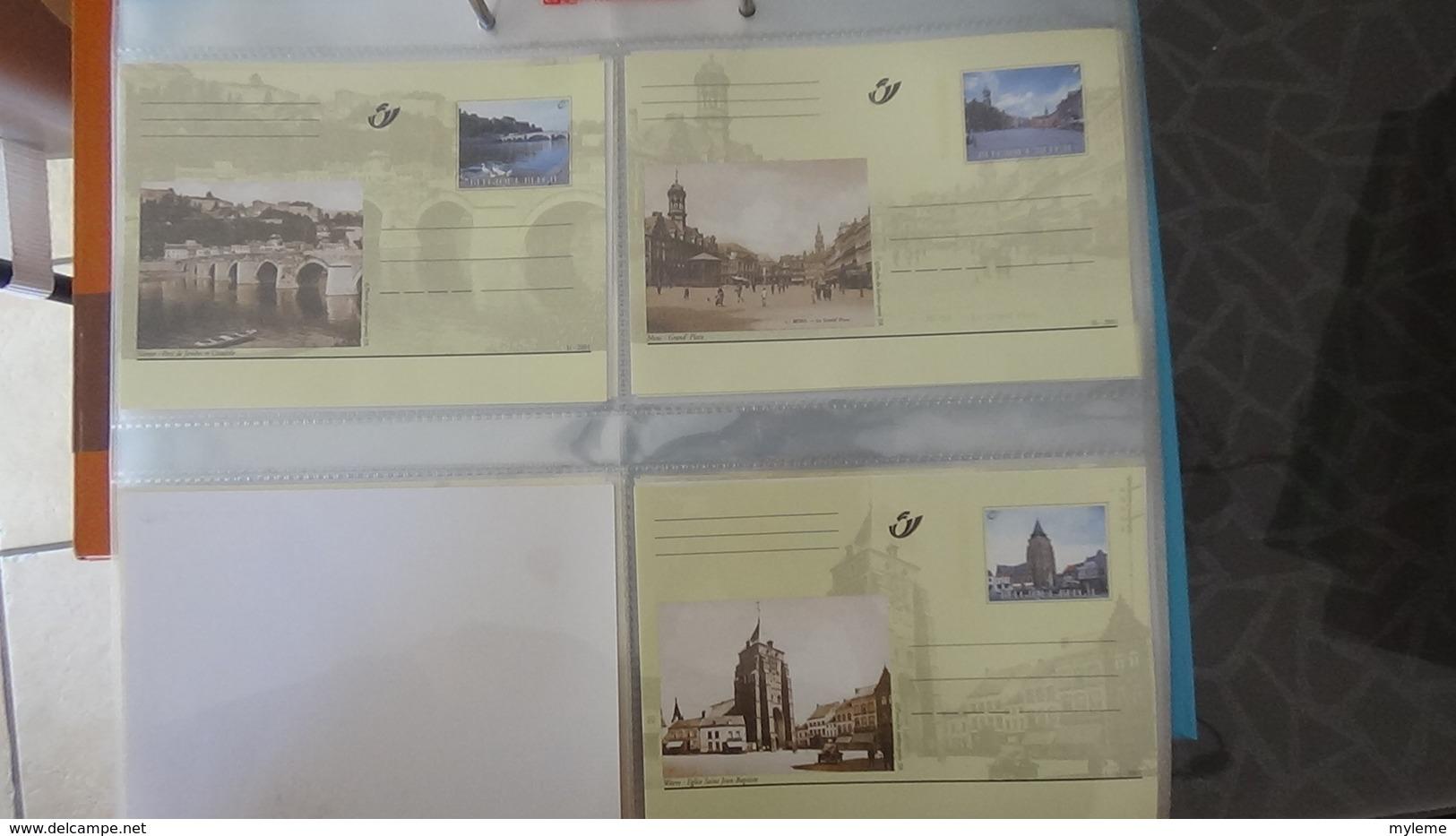 Lot De 136 Entiers Postaux ** De BELGIQUE Pas Commun !!! - Timbres