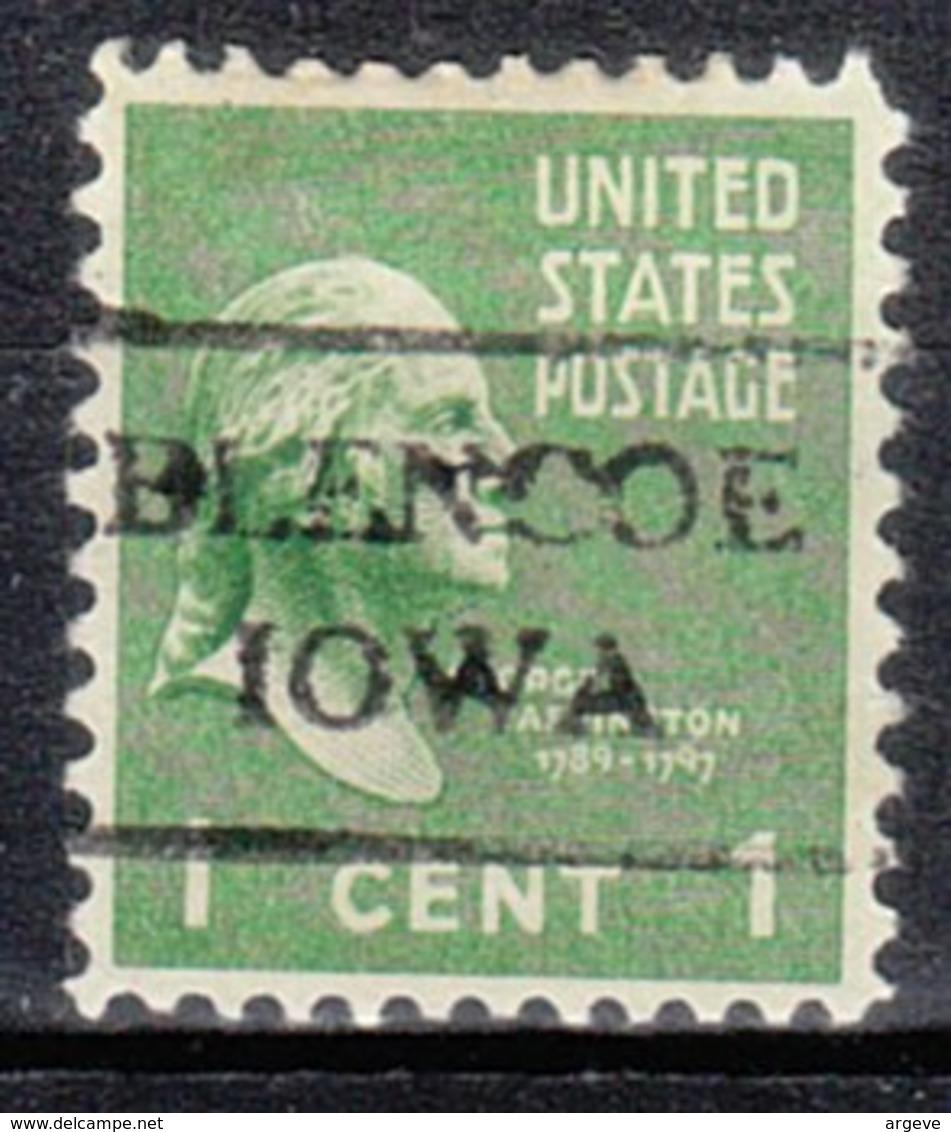 USA Precancel Vorausentwertung Preo, Locals Iowa, Blencoe 716 - Vereinigte Staaten