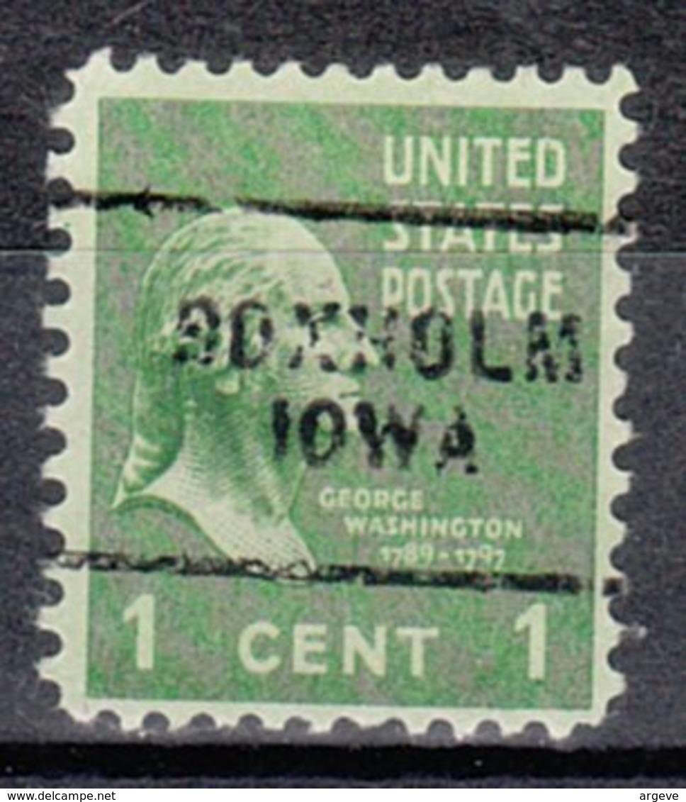 USA Precancel Vorausentwertung Preo, Locals Iowa, Boxholm 703 - Vereinigte Staaten