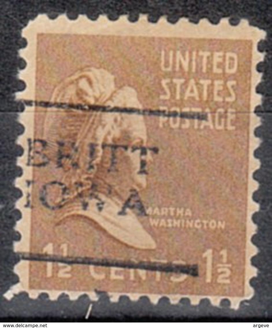 USA Precancel Vorausentwertung Preo, Locals Iowa, Britt 701 - United States