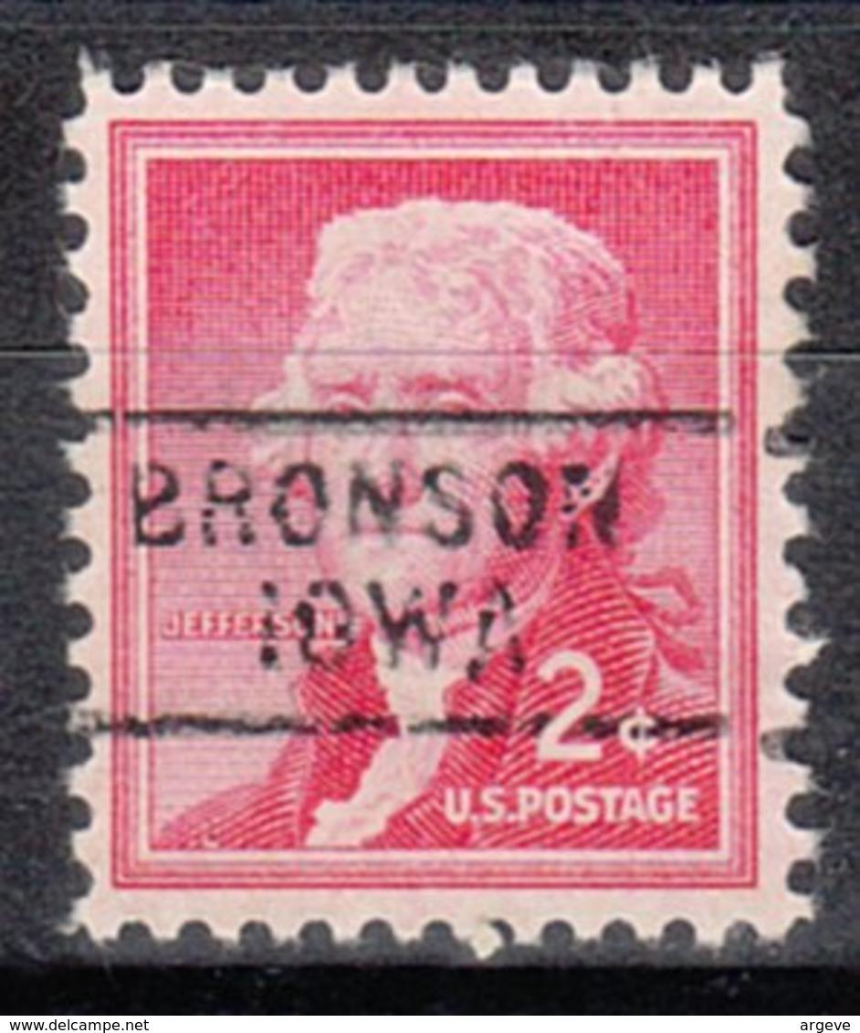 USA Precancel Vorausentwertung Preo, Locals Iowa, Bronson 729 - Vereinigte Staaten