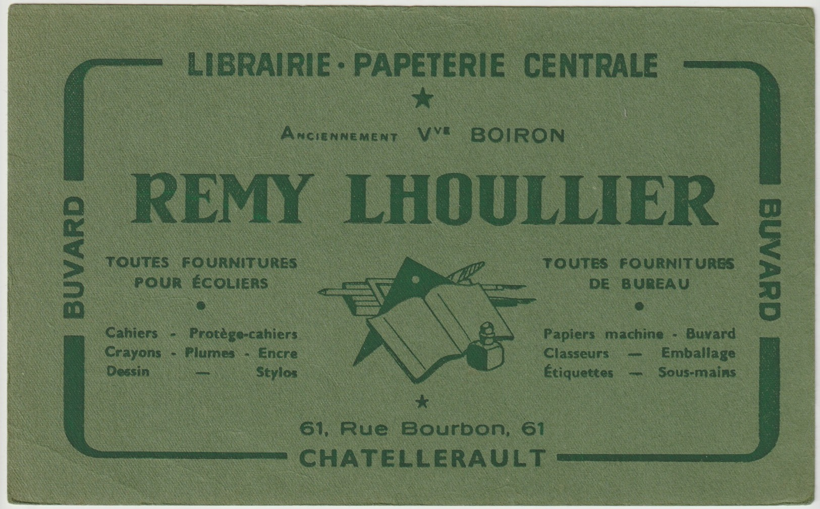 BUVRD - CHATELLERAULT - LIBRAIRIE REMY LHOULLIER - Unclassified