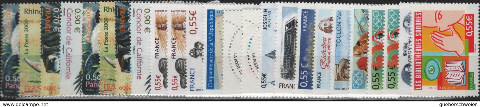 Lot De Timbres De France Neufs** Pour Affranchissement à Moins 40% De La Faciale Toutes Valeurs En Euros - France