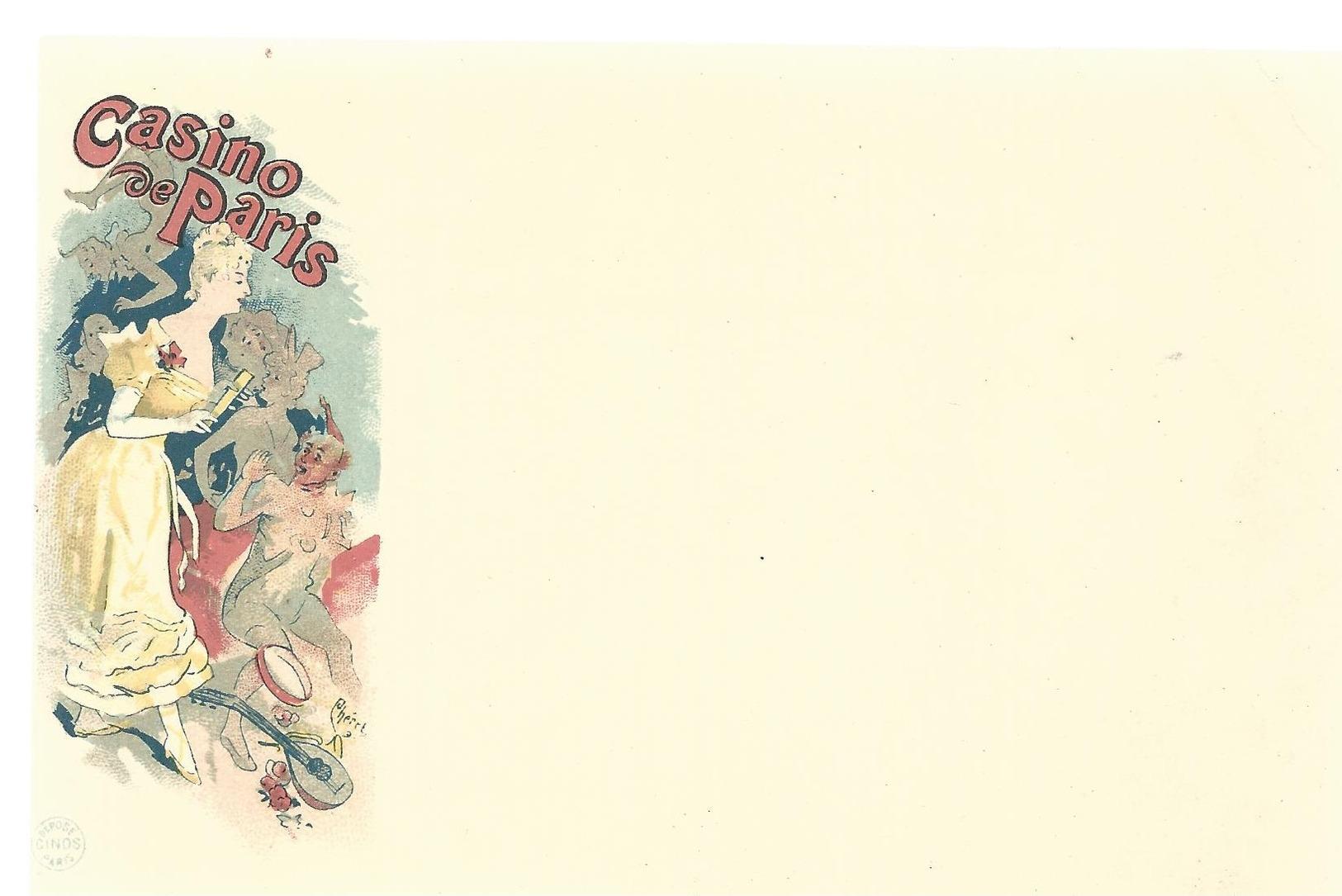CPA - ART NOUVEAU - ILL. PAL - CINOS - CASINO DE PARIS - NON ECRITE - TBE - Autres Illustrateurs