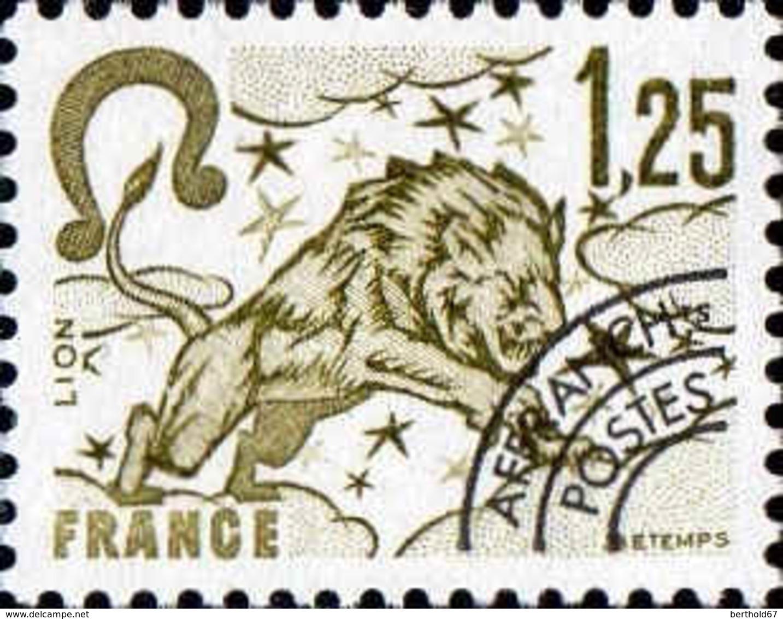 France Préo N** Yv:156 Mi:2114 Signe Du Zodiaque Lion - Préoblitérés