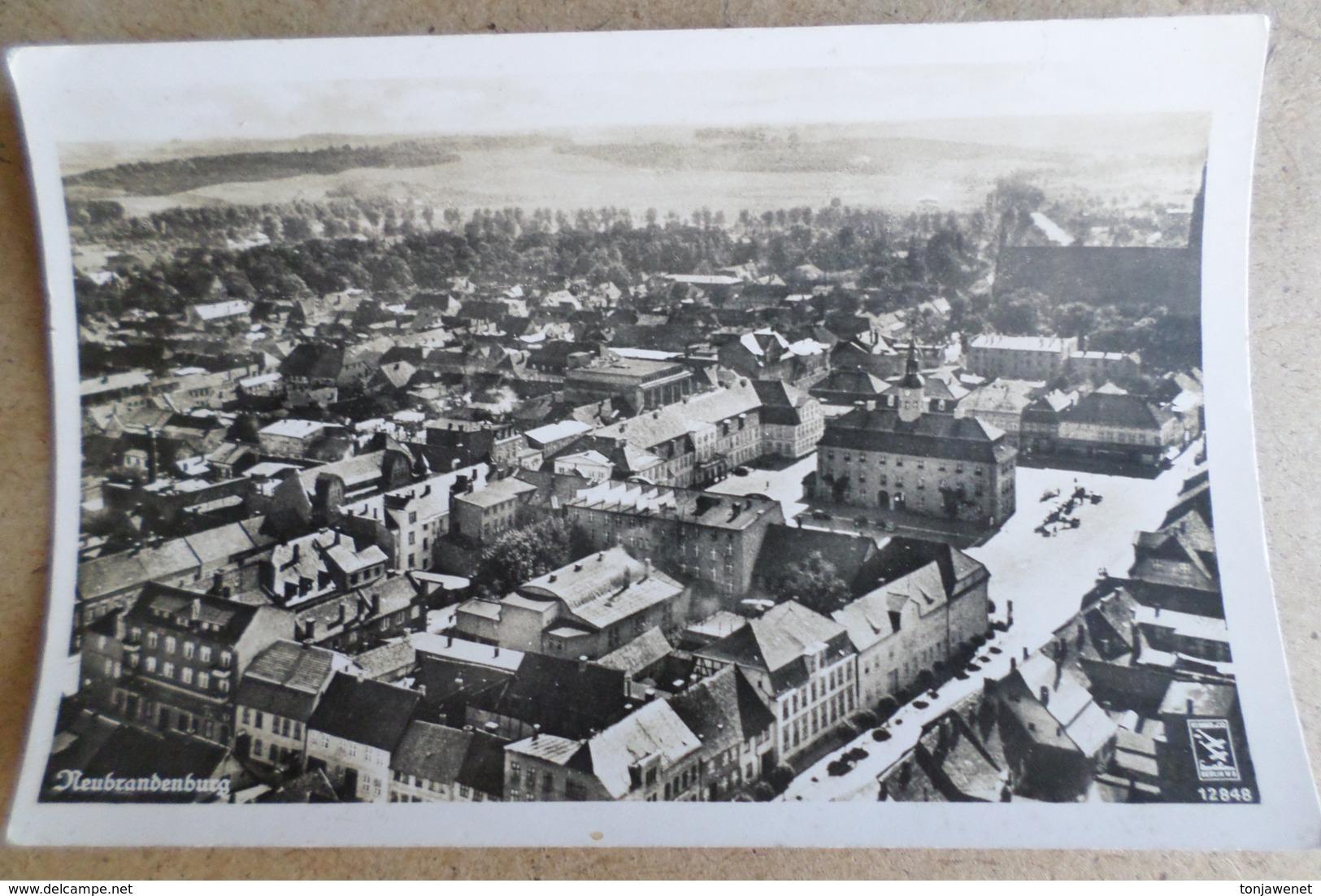 NEUBRANDENBURG - Vue Générale ( Allemagne ) - Neubrandenburg