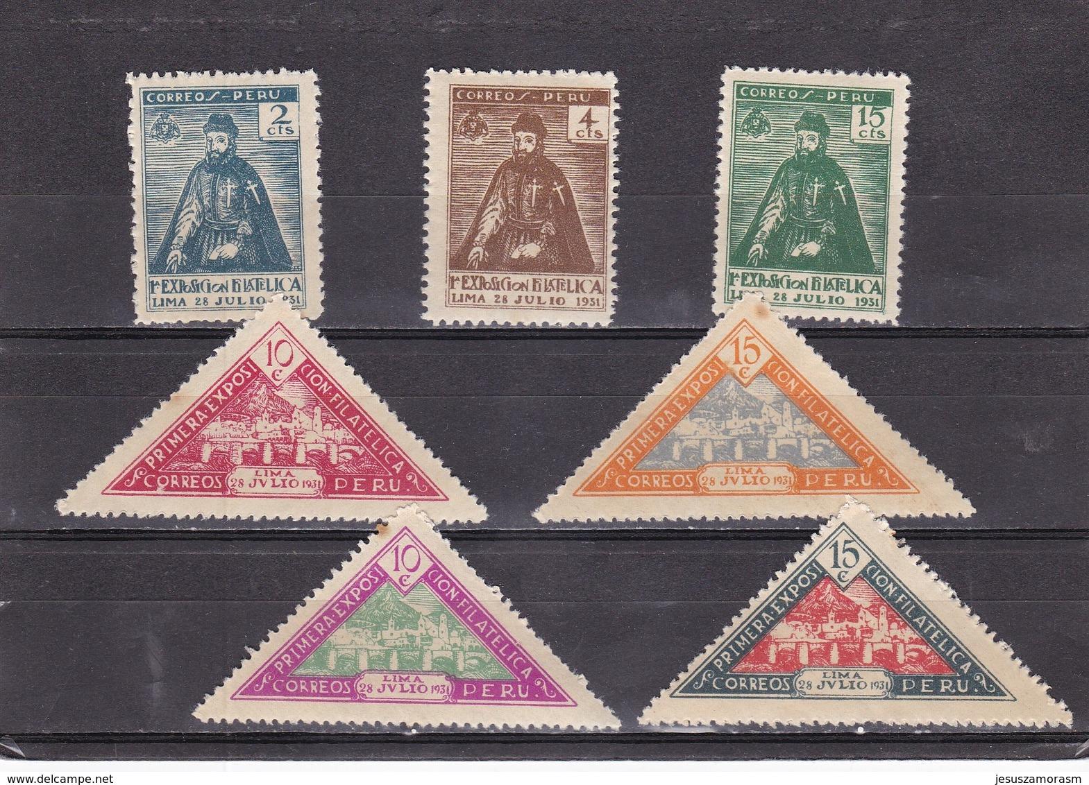 Peru Nº 264 Al 270 - Peru