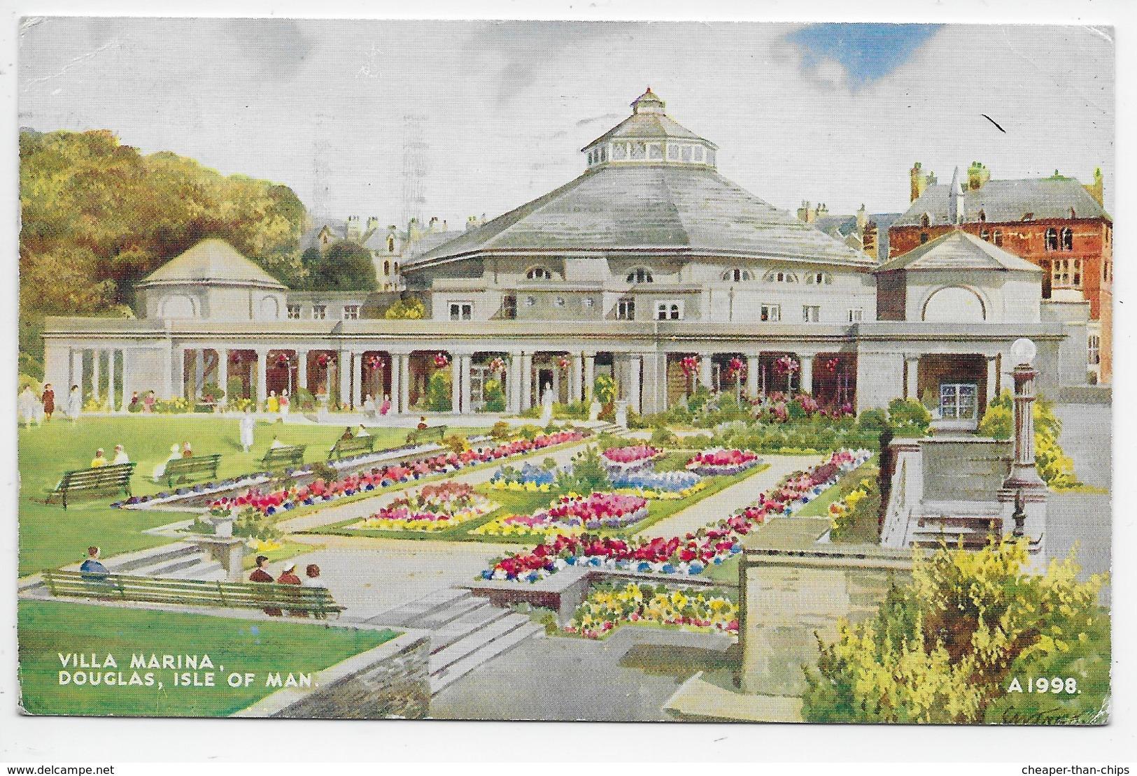 Villa Marina, Douglas,Isle Of Man. - Art Colour 1998 - Isle Of Man