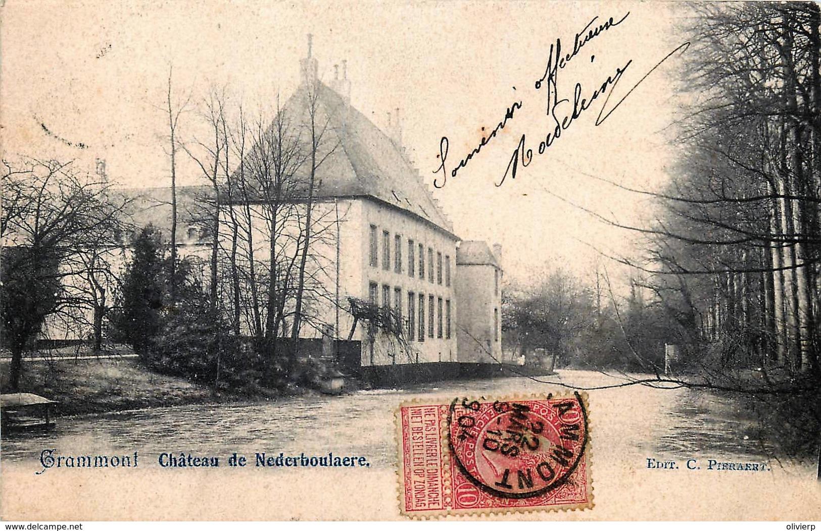 Belgique - Geraardsbergen - Château De Nederboulaere - Geraardsbergen