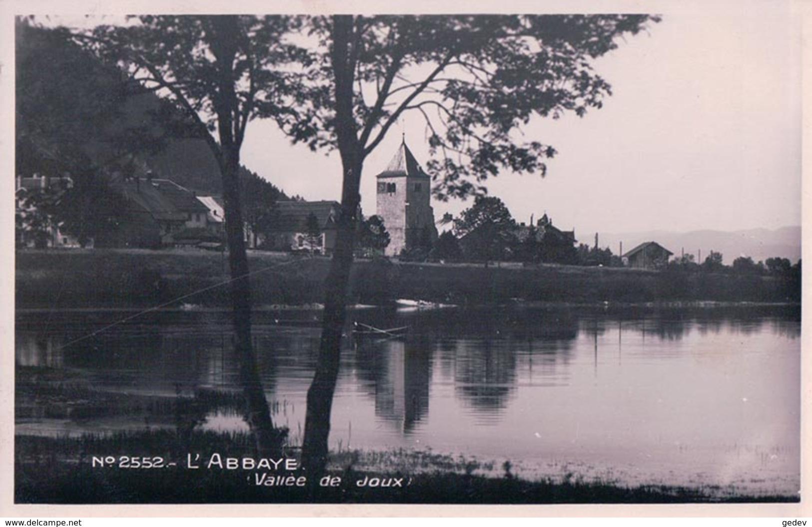 Vallée De Joux, L'Abbaye Vu Du Lac (2552) - VD Vaud