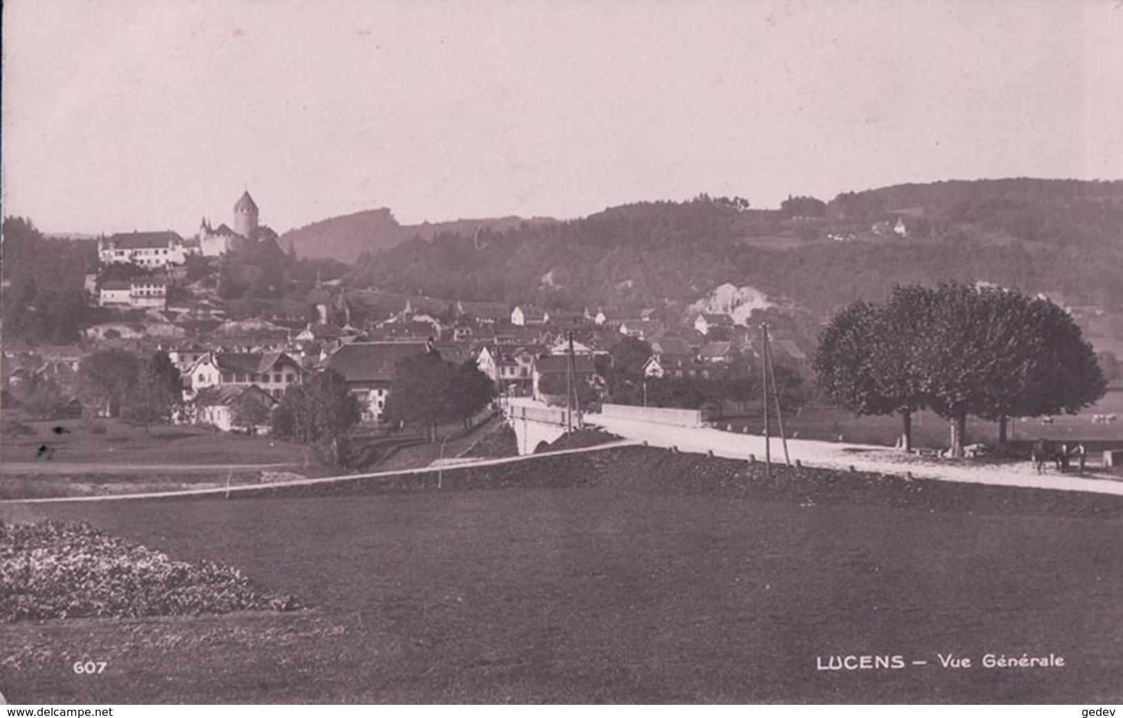 Lucens VD, Vue Générale (607) - VD Vaud