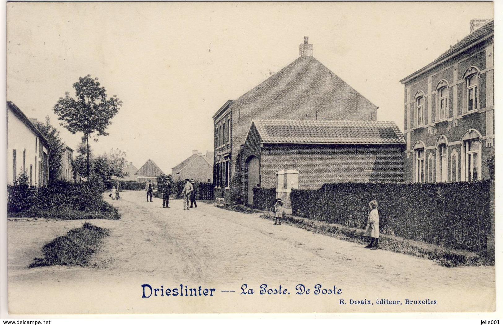 Drieslinter Linter De Post 1918 - Linter