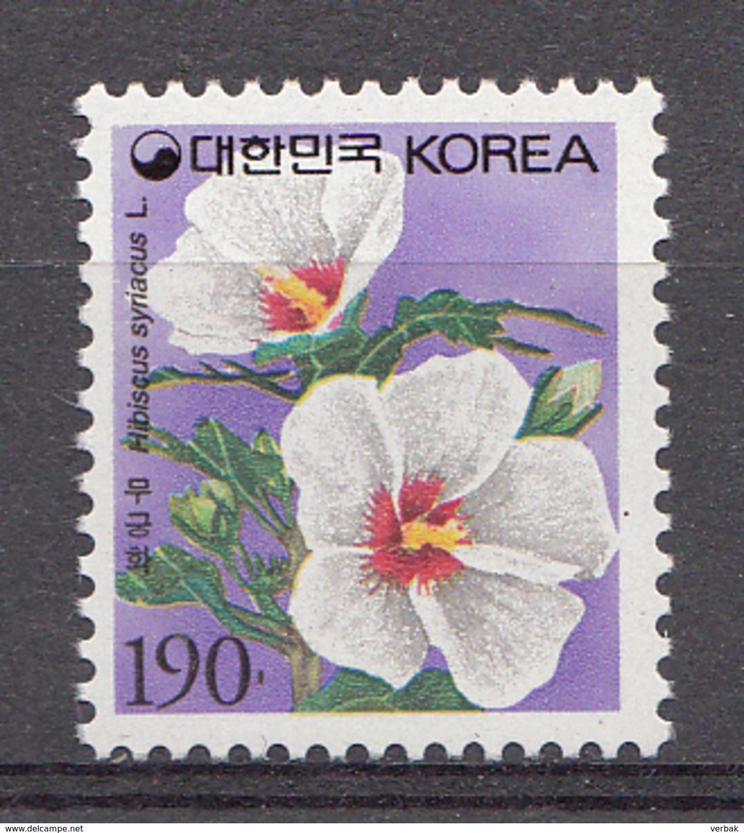 Corée Du Sud 1997 Mi. Nr: 1938 Blumen  Neuf Sans Charniere / MNH / Postfris - Corée Du Sud