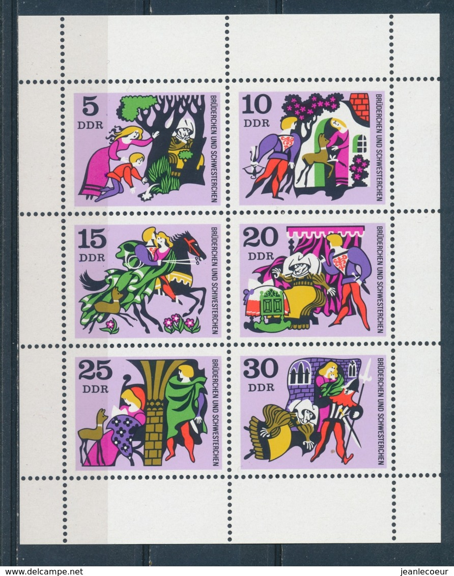DDR/East Germany/Allemagne Orientale 1970 Mi: Klb 1545-1550 (PF/MNH/Neuf Sans Ch/nuovo Senza C./**)(4475) - [6] Oost-Duitsland