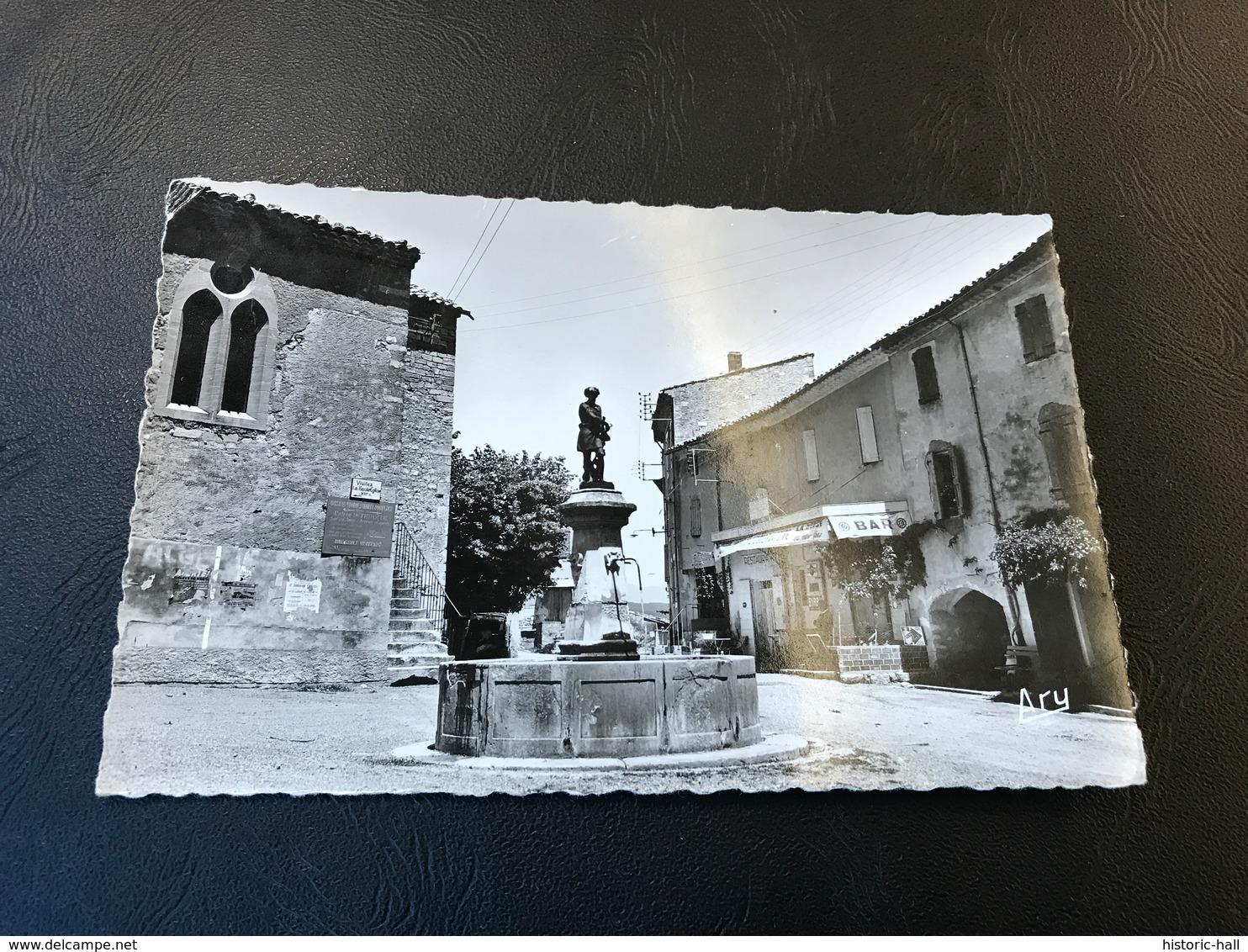ST MICHEL L'OBSERVATOIRE Place De La Fontaine - 1958 Timbrée - Autres Communes