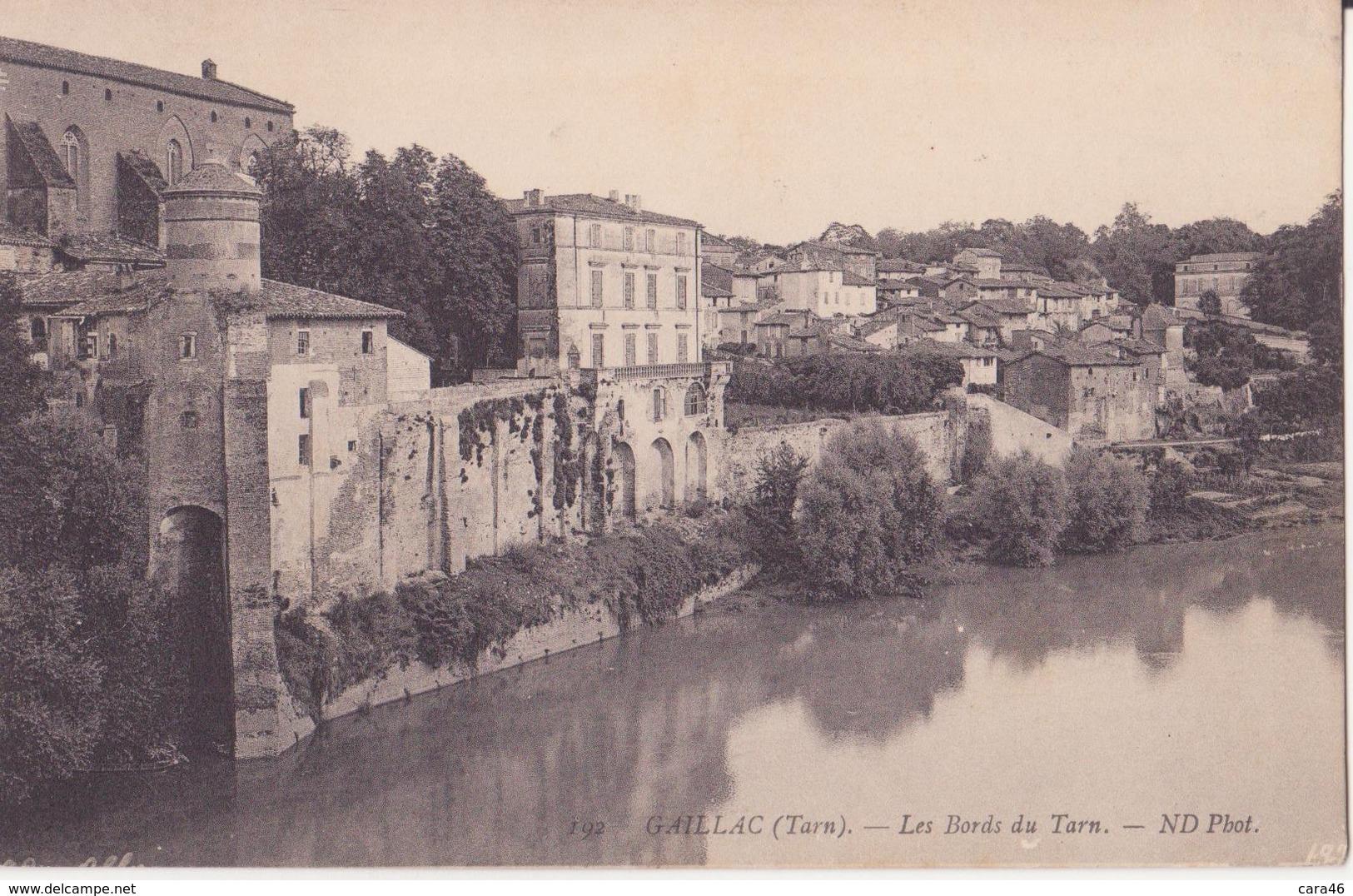 CPA  - 192. Gaillac - Les Bords Du Tarn - Gaillac