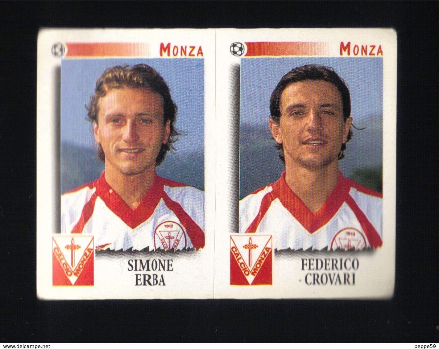Figurina Calciatori Italiani Panini 1997-1998 - Monza  - N.496   - Football - Soccer - Socker - Fussball - Futbol - Panini