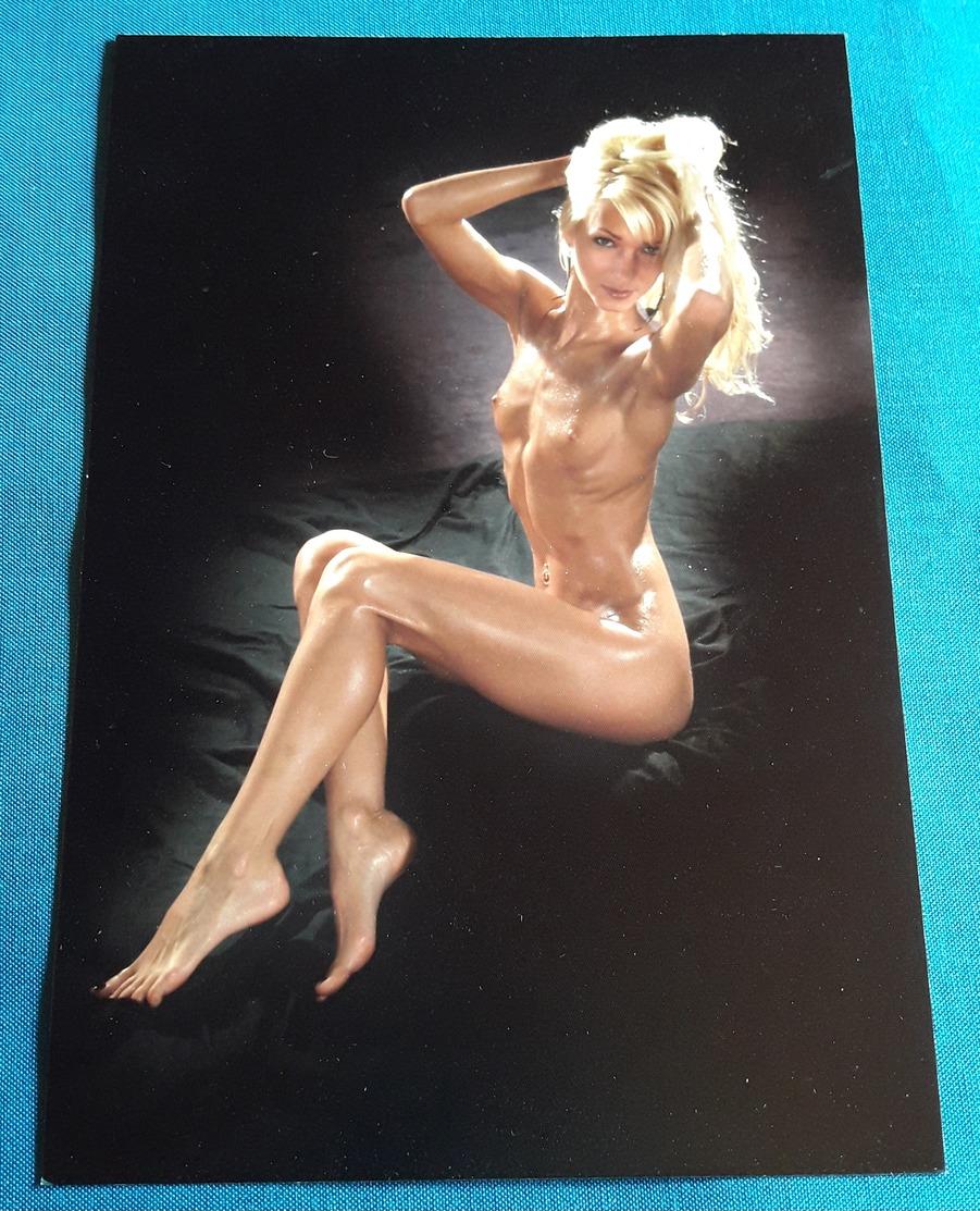 Künstlerisches Akt-Photo Aus Dem Fotostudio (ca. 12,5 X 19 Cm) Nude Sexy Girl Nackt-Model-Erotik Jeune Femme Nu (ef18) - Künstlerische Akte (1960-…)