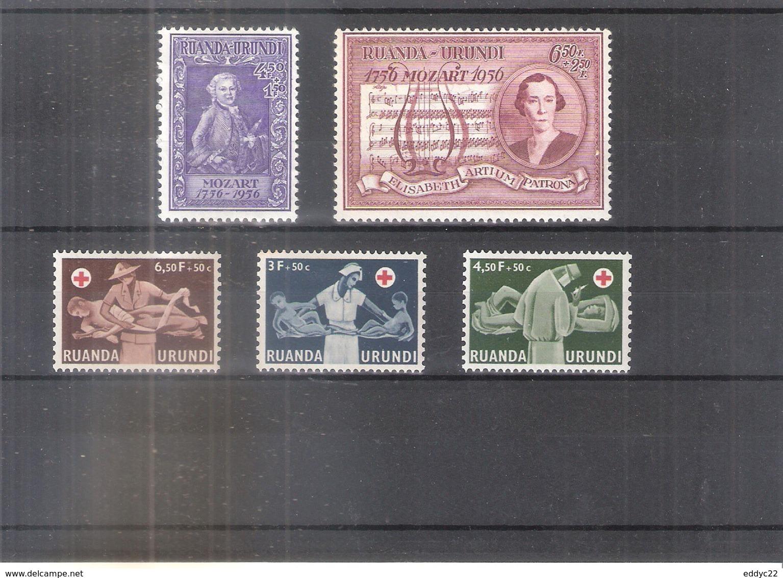 Ruanda-Urundi - 200/04 - Séries Complètes - X/MH - Ruanda-Urundi
