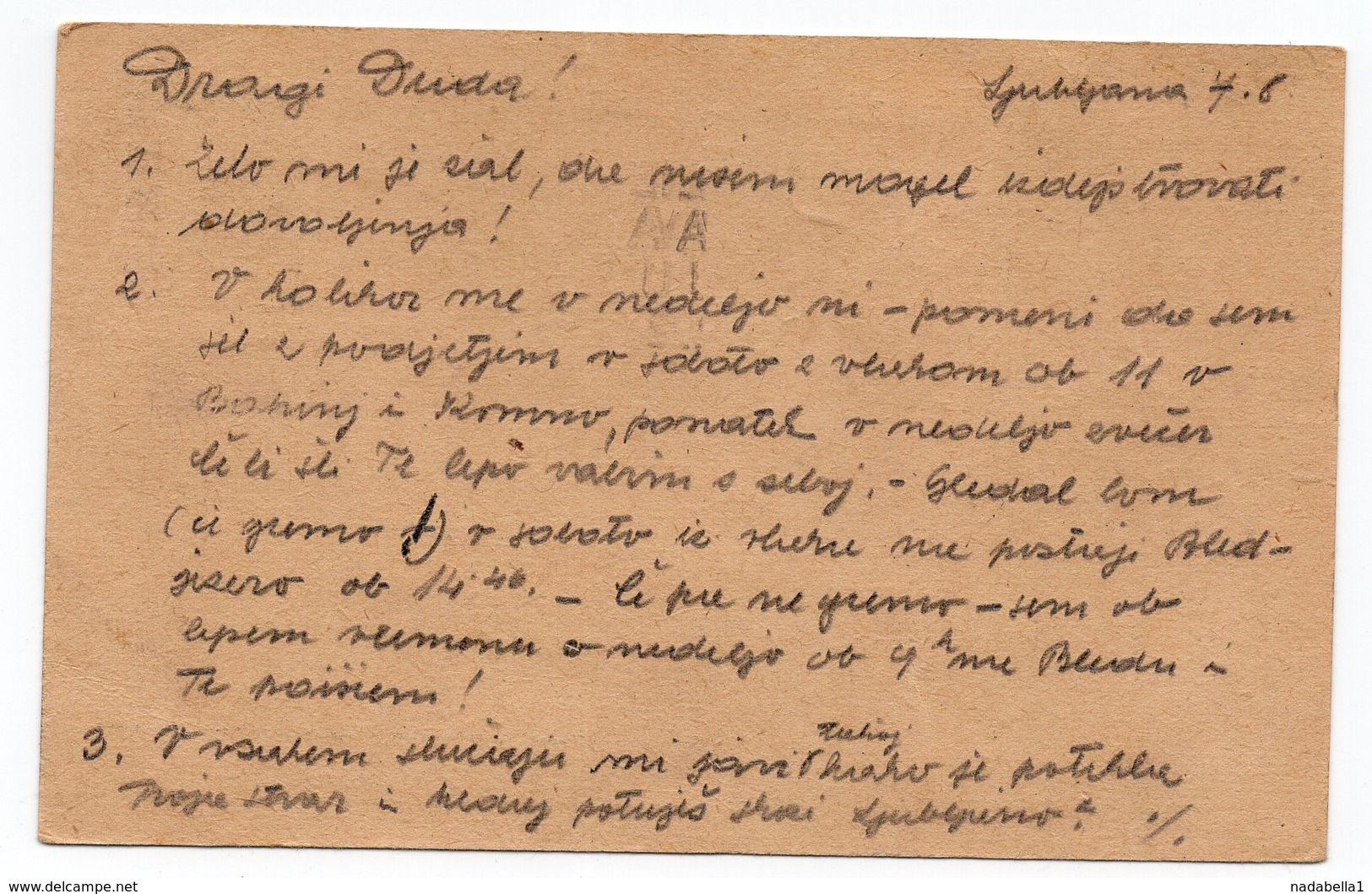 1952 YUGOSLAVIA, SLOVENIA, LJUBLJANA, BLED, POST RESTANT, POSTAGE DUE, FLAM - Postage Due
