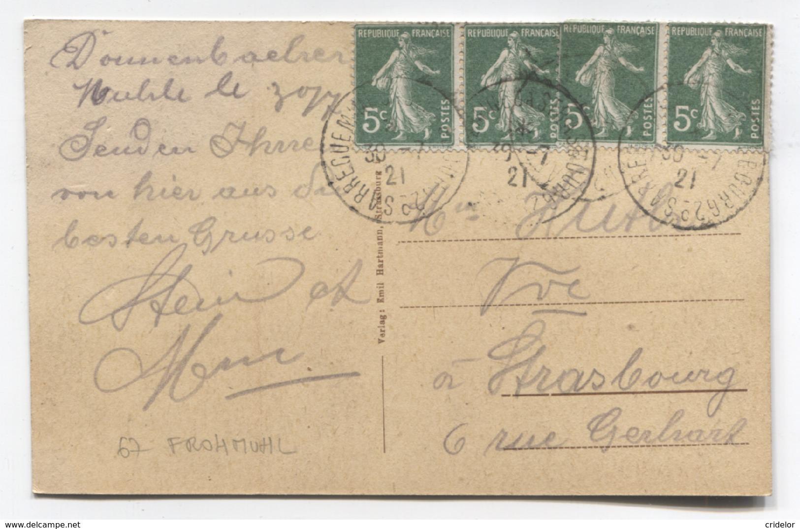 67 - FROHMUHL - MOULIN DE DONNENBACH - VOIR ZOOM - Autres Communes