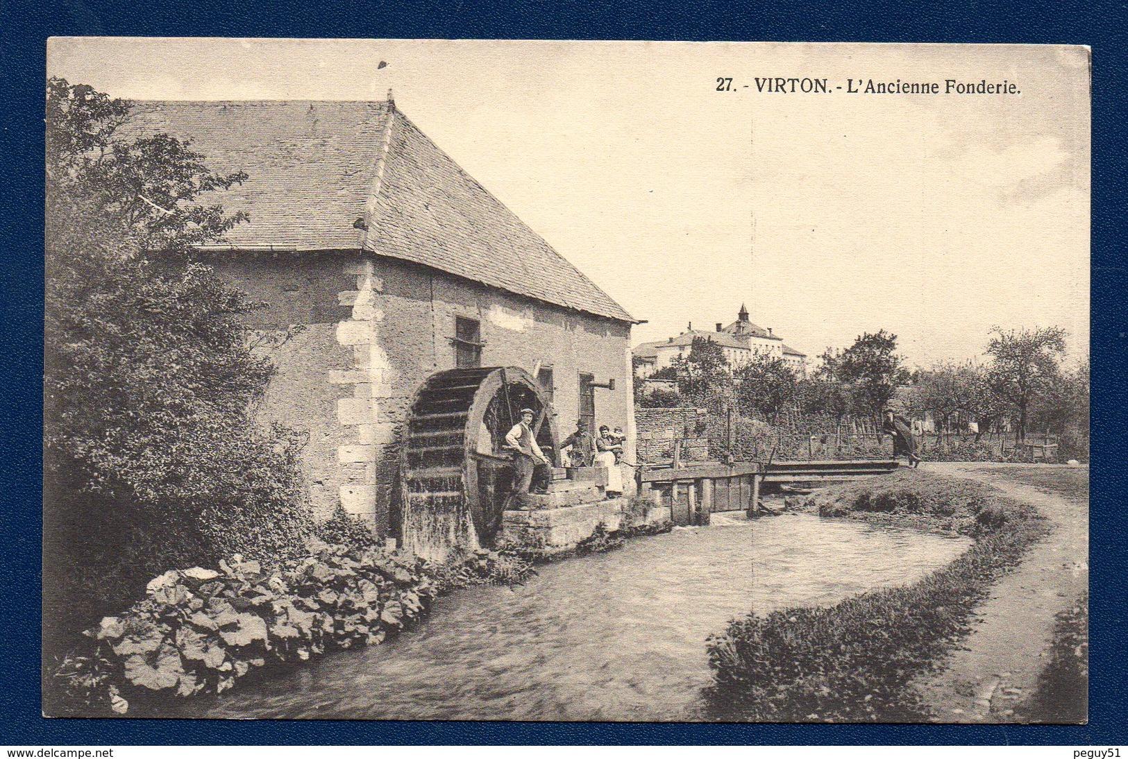 Virton. L' Ancienne Fonderie Sur Le Ton. - Virton