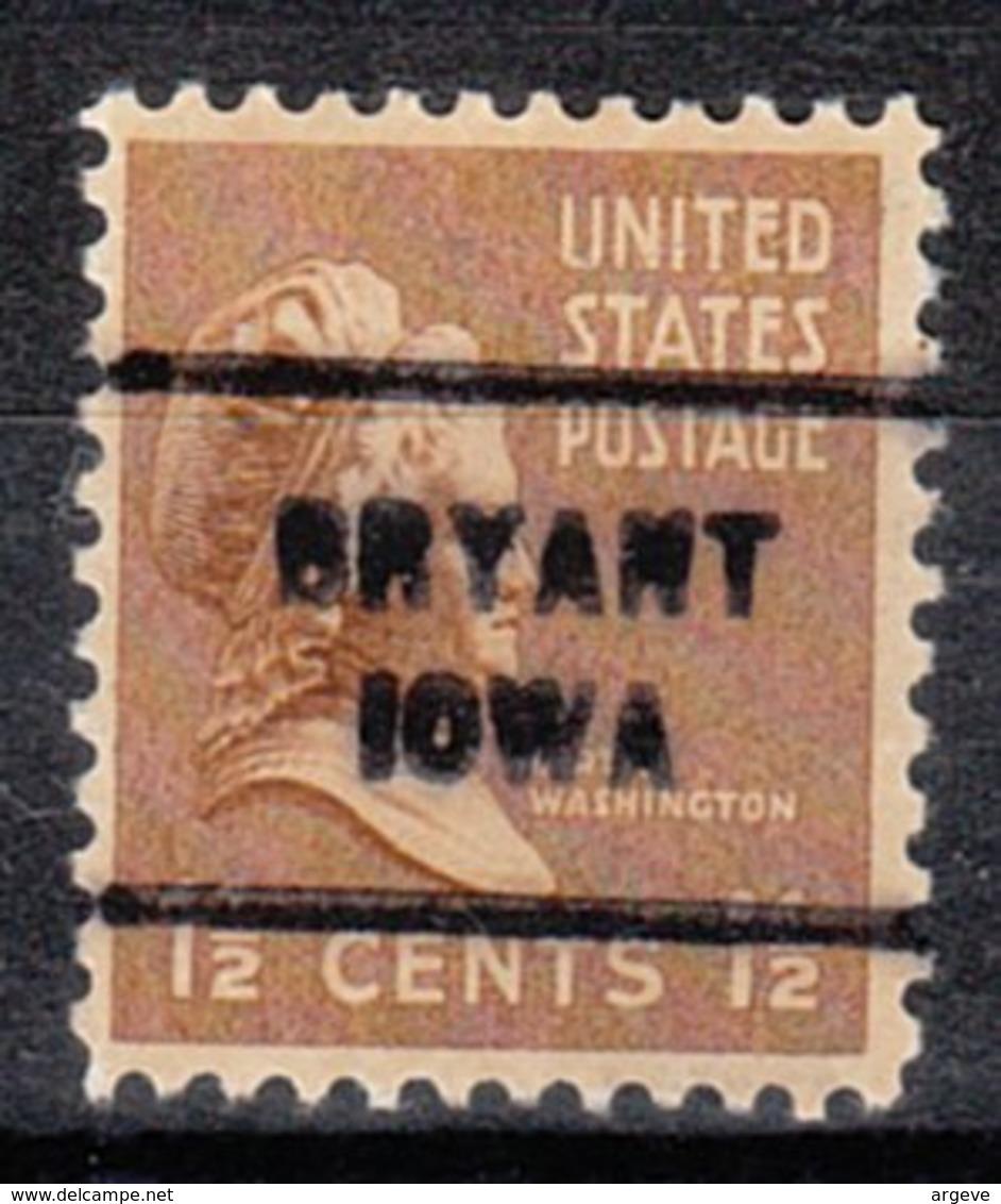 USA Precancel Vorausentwertung Preo, Locals Iowa, Bryant 712 - Vereinigte Staaten