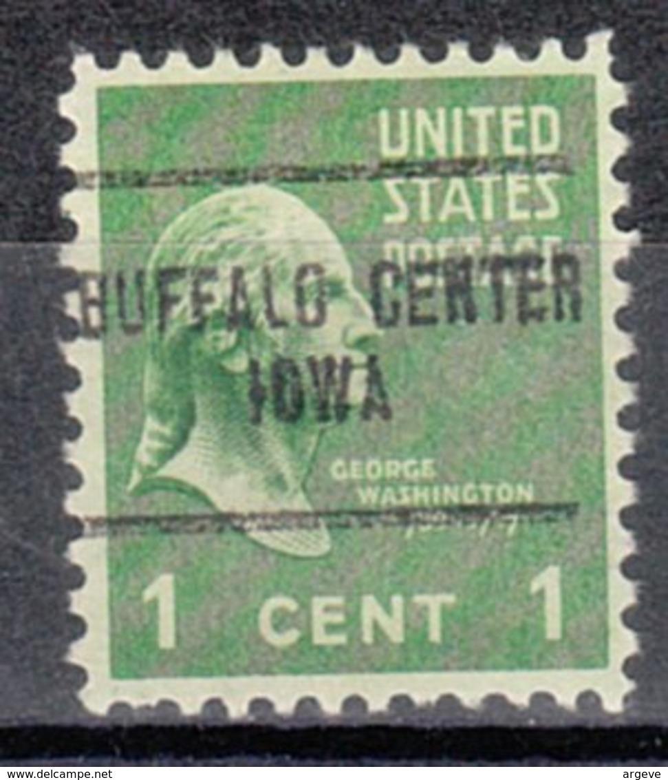 USA Precancel Vorausentwertung Preo, Locals Iowa, Buffalo Center 704 - Vereinigte Staaten