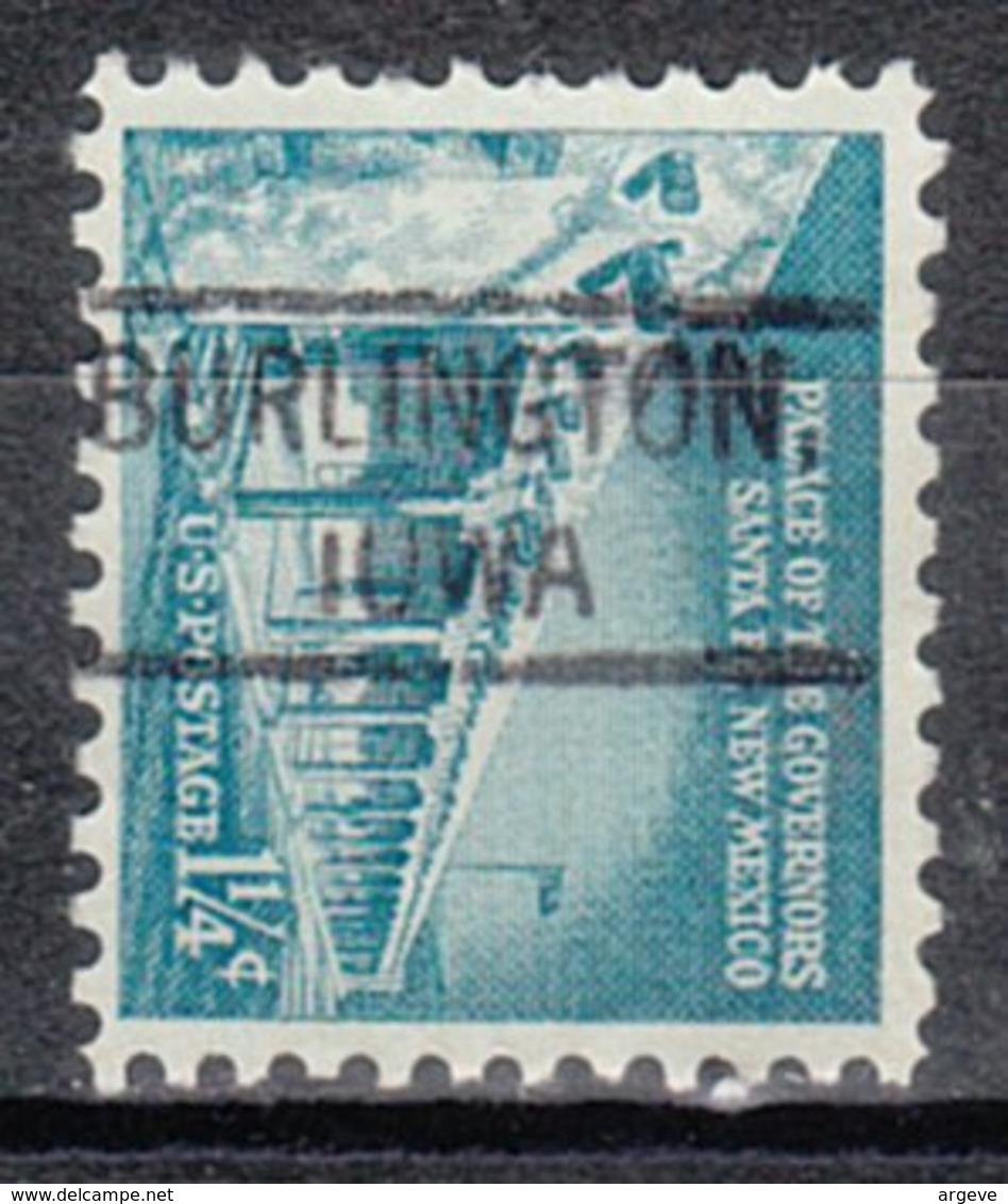 USA Precancel Vorausentwertung Preo, Locals Iowa, Burlington 804 - Vereinigte Staaten