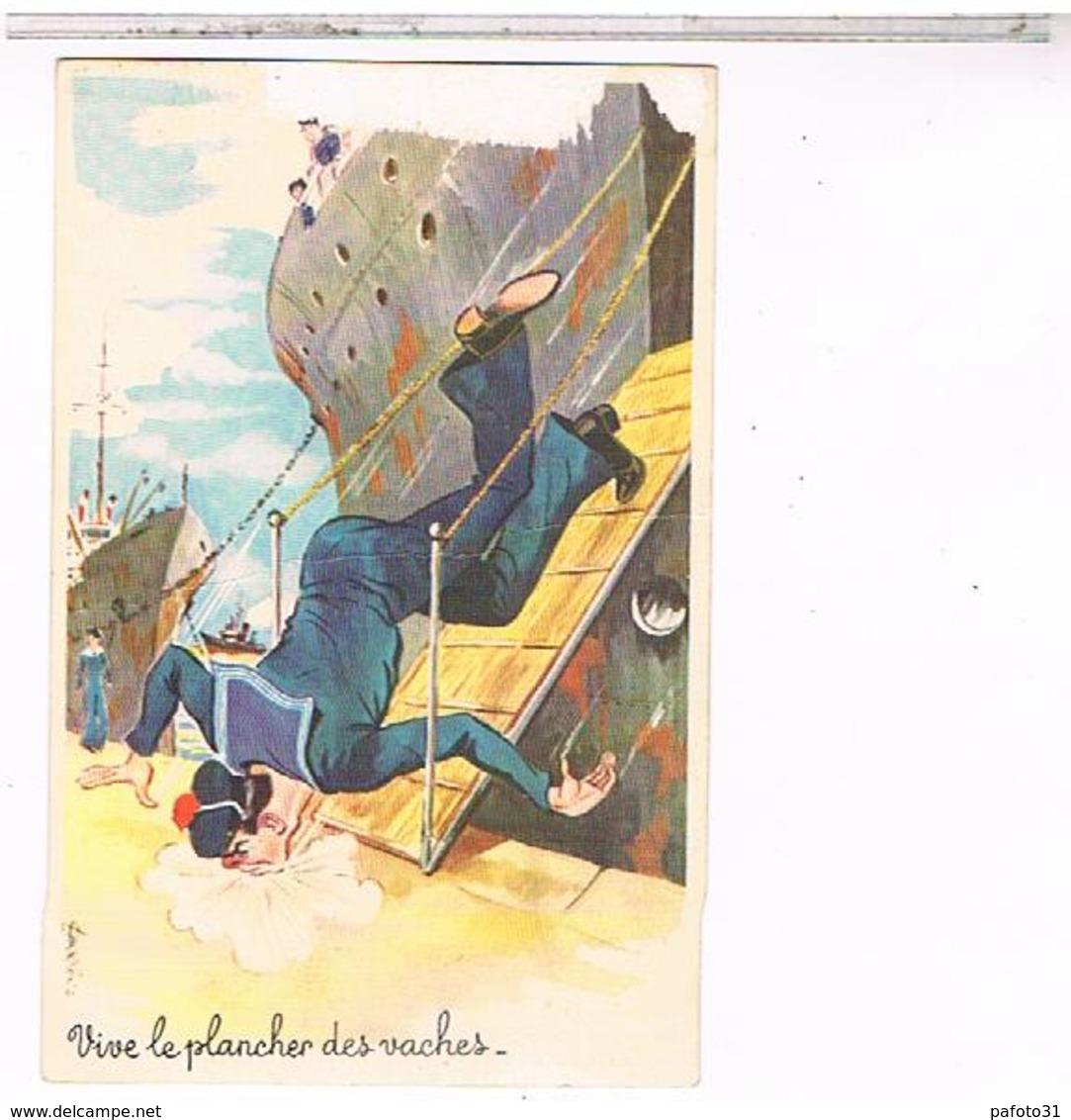 CPSM ILLUSTRATEUR LOUIS CARRIERE N°986   MARIN        ER08 - Carrière, Louis