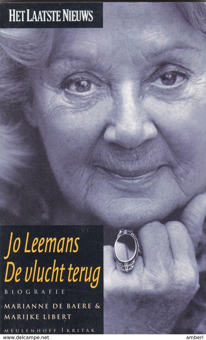 """Willebroek Mechelen """"Jo Leemans De Vlucht Terug"""" Een Literaire Soap - Esoterism"""