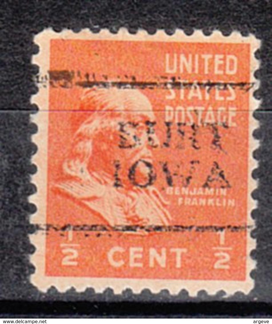 USA Precancel Vorausentwertung Preo, Locals Iowa, Burt 701 - Vereinigte Staaten