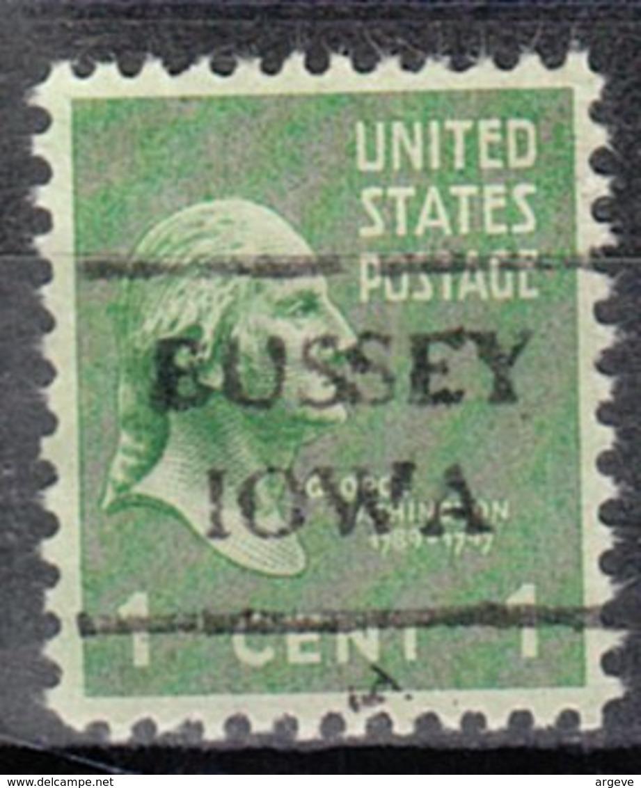 USA Precancel Vorausentwertung Preo, Locals Iowa, Bussey 716 - Vereinigte Staaten