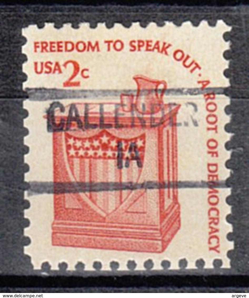 USA Precancel Vorausentwertung Preo, Locals Iowa, Callender 841 - Vereinigte Staaten